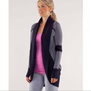 Lululemon Transformation Wrap Reversible Sweater